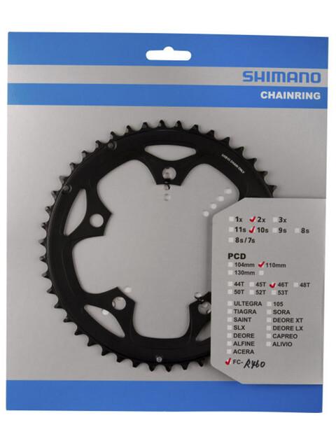 Shimano FC-R460 Kettenblatt 10-fach F schwarz